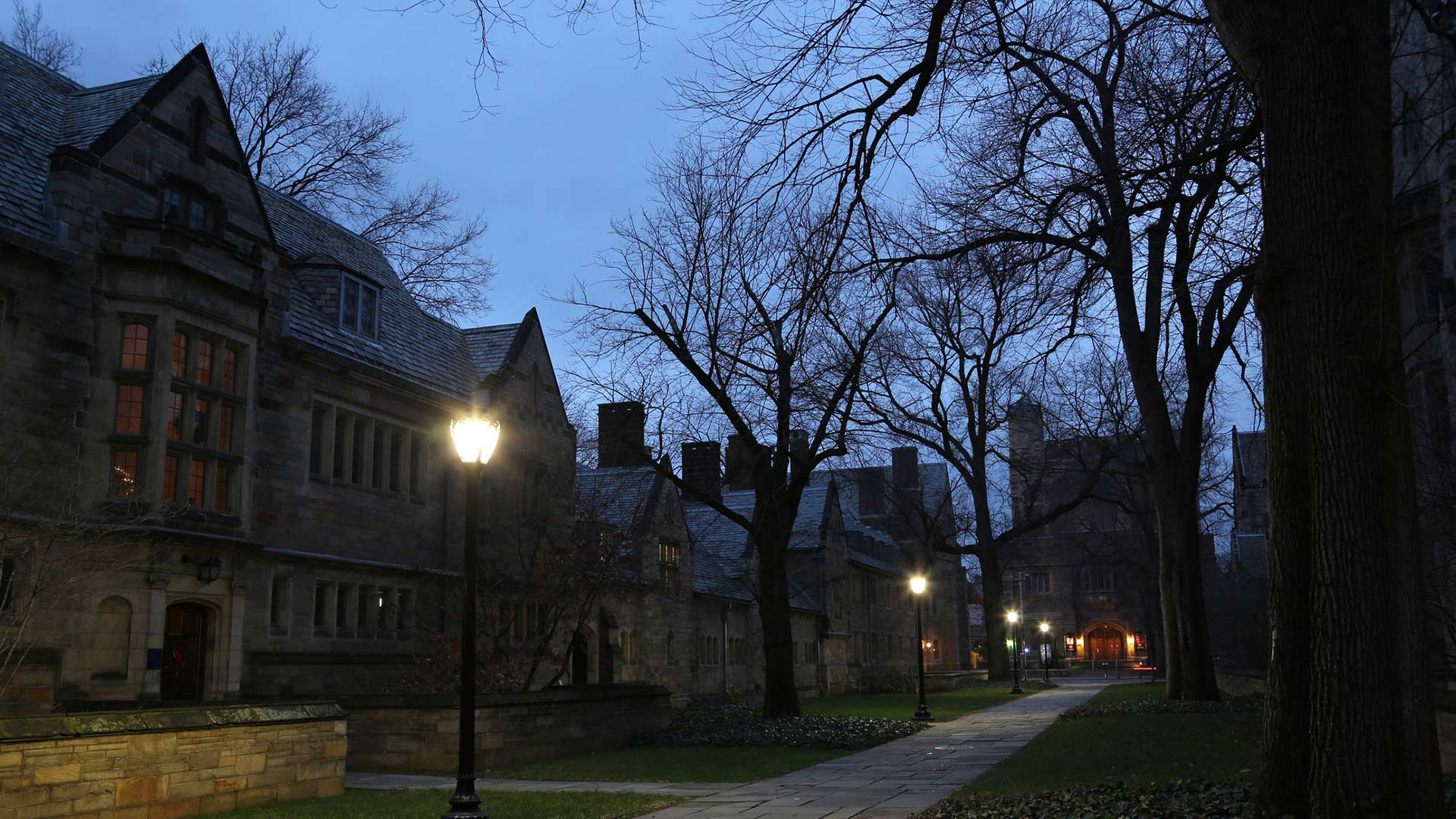 Campus at Night