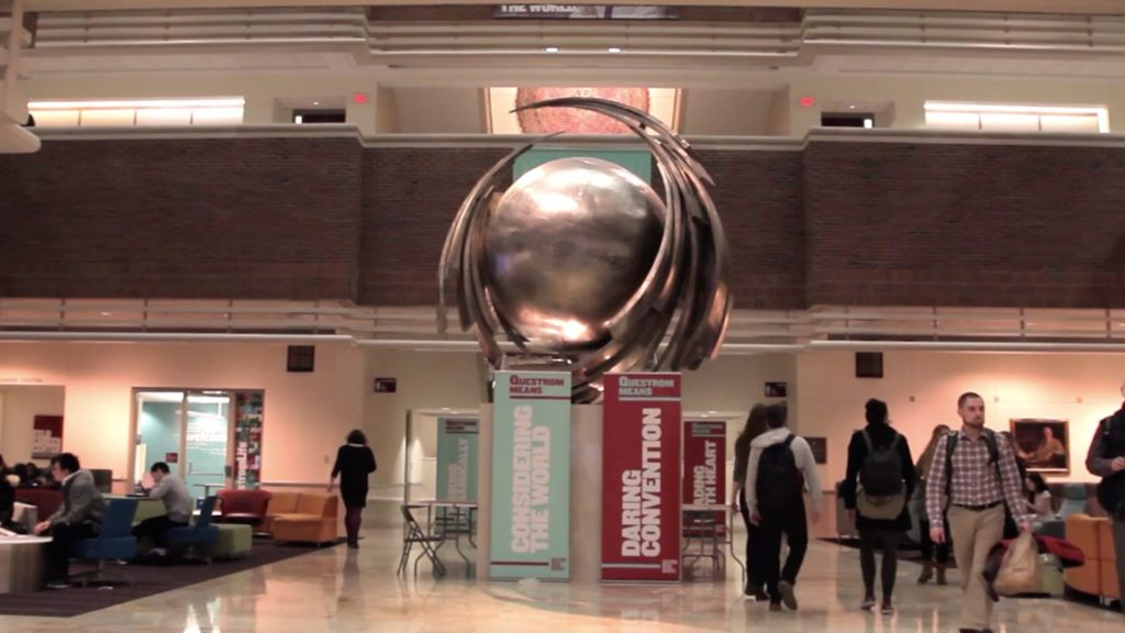 Inside the halls of Questrom School of Business